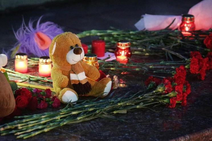 почтить память невинно погибших во время страшной трагедии, произошедшей в городе Кемерово, 27 марта 2018