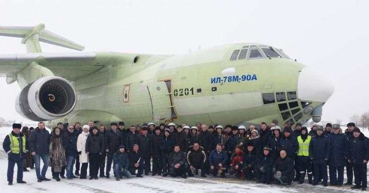 Самолет-топливозаправщик Ил-78М-90А