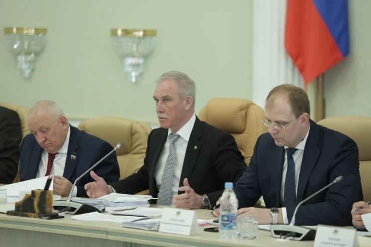 Анатолий Бакаев, Сергей Морозов, Александр Смекалин, 2 апреля 2018 года