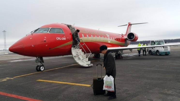 CRJ-200 самолет
