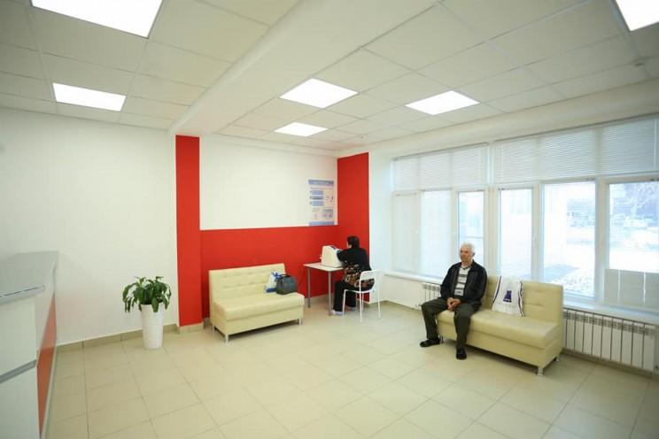 Губернатор Сергей Морозов рассказал о творческом подходе к ремонту помещений ульяновской поликлиники № 5 - 2