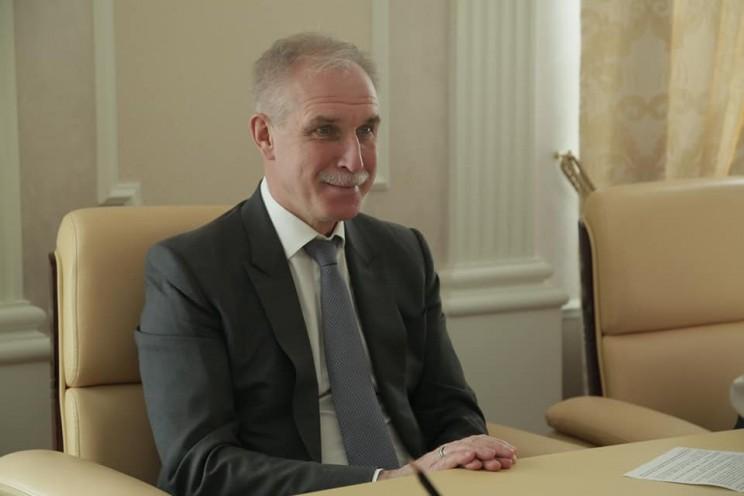 Губернатор Ульяновской области Сергей Морозов, 11 апреля 2018