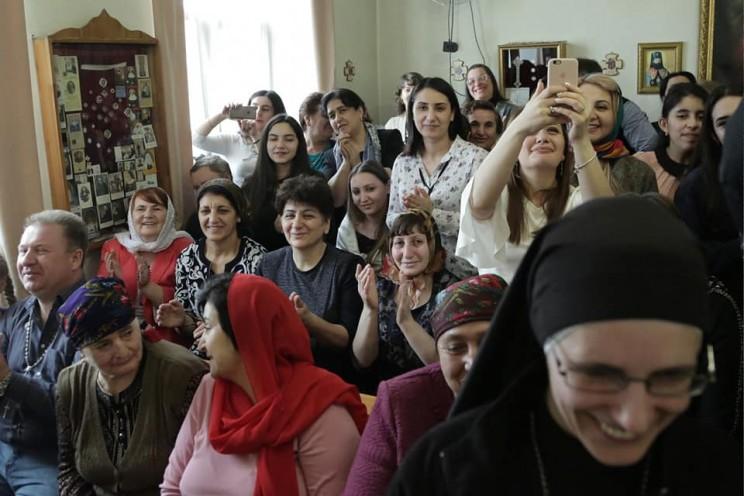 Губернатор Ульяновской области поздравил с праздником Пасхи католическую и лютеранскую общины - 4