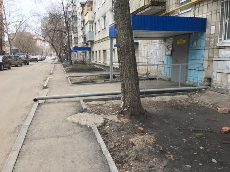 Комфортная среда Ульяновск - двор