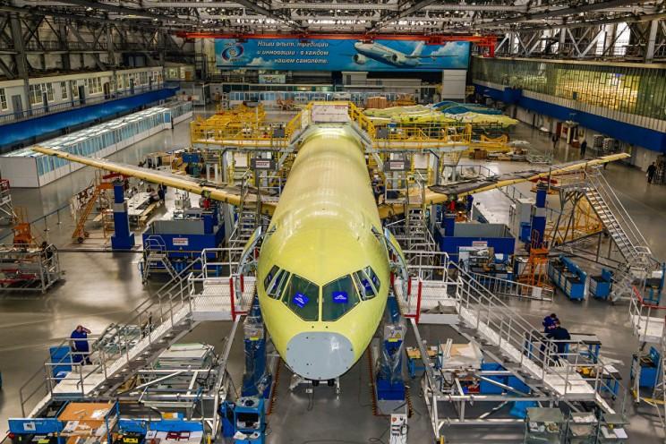 Объединенная авиастроительная корпорация готовится начать сборку серийных МС-21