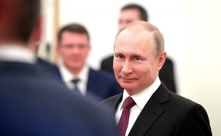 Президент России Владимир Путин встретился выпускниками программы кадрового управленческого резерва, 25 апреля 2018 - 4