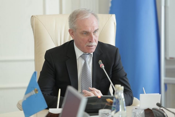 Сергей Морозов, 2 апреля 2018 года