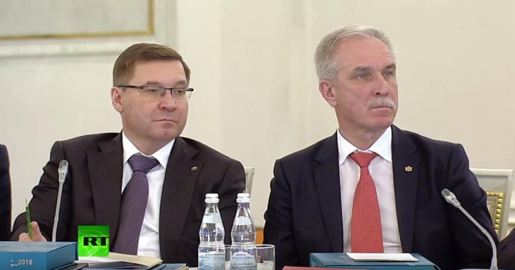 Сергей Морозов на заседании Госсовета 5 апреля 2018 года - 2