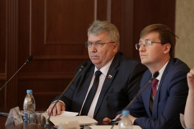 Сергей Панчин и Вадим Андреев, 20 апреля 2018