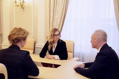 Светлана Колесова и Сергей Морозов, 5 марта 2018 года
