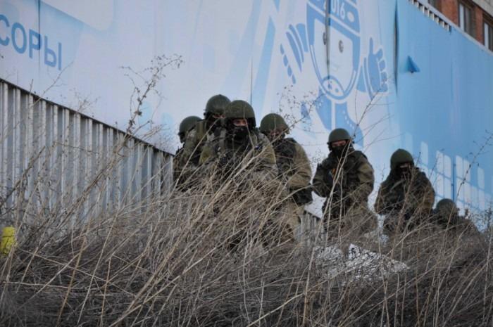 В Ульяновске прошли учения силовых ведомств
