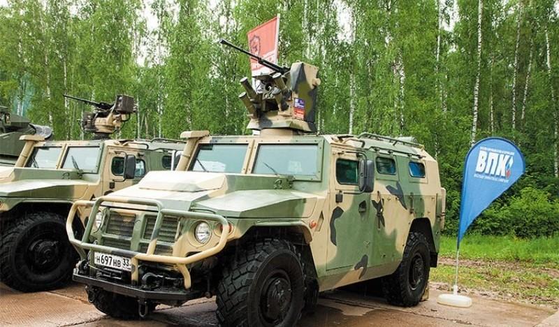 ВДВ получили все планировавшиеся к поставке машины «Тигр»