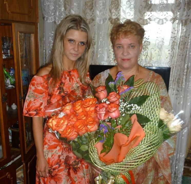 Екатерина Федяева с мамой