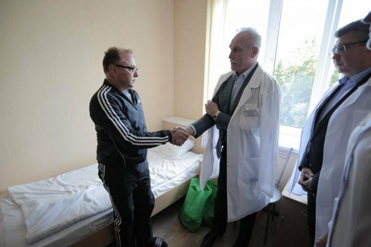 Губернатор Ульяновской области навестил Алексея Егорова, 25 мая 2018 - 1