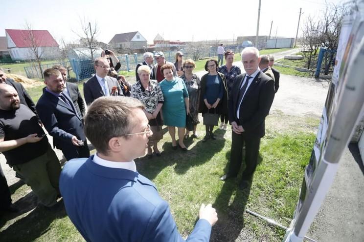Губернатор Ульяновской области поручил ускорить строительство школы в Тереньге, 4 мая 2018 - 1