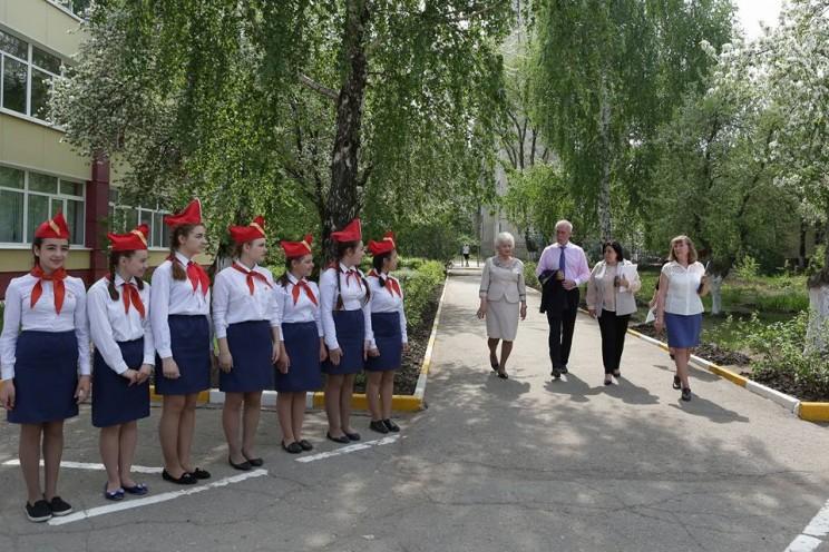 Губернатор Ульяновской области рассказал свое видение развития школьного самоуправления, 44 гимназия, 18 мая 2018 - 1