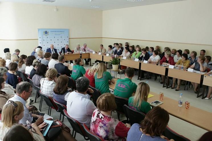 Губернатор Ульяновской области рассказал свое видение развития школьного самоуправления, 44 гимназия, 18 мая 2018 - 3