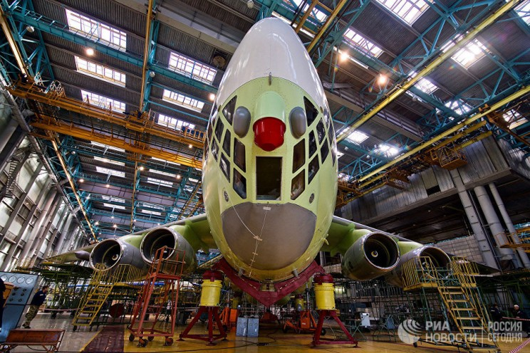 Ил-78М-90А РИА Новости Андрей Станавов