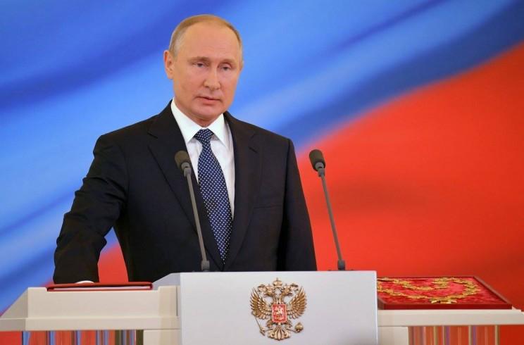 Инаугурация Владимира Путина, 7 мая 2018 года