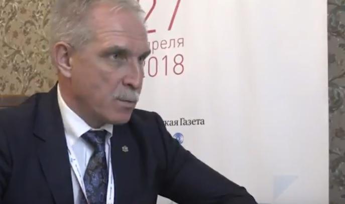 Интервью губернатора Ульяновской области на Российско-Японском форуме,