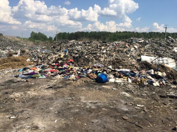 Экокатастрофа в Мулловке: нелегальный мусорный полигон