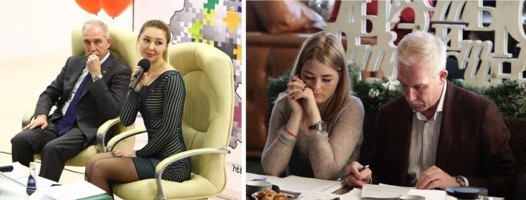 Ольга Богородецкая, Мария Рогаткина, Сергей Морозов