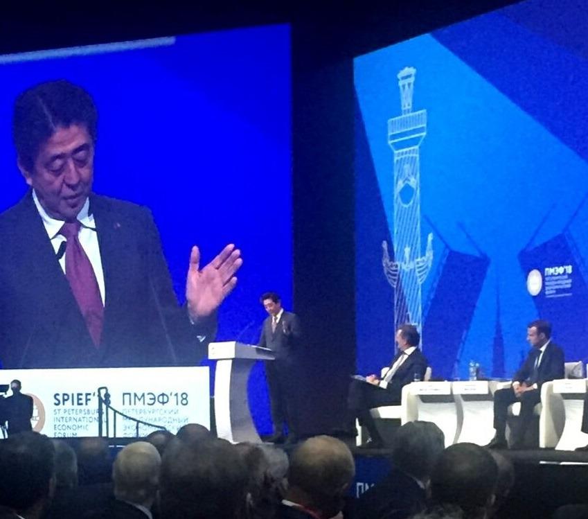 Премьер-министр Японии Синдзо Абэ оценил сотрудничество с Ульяновской областью