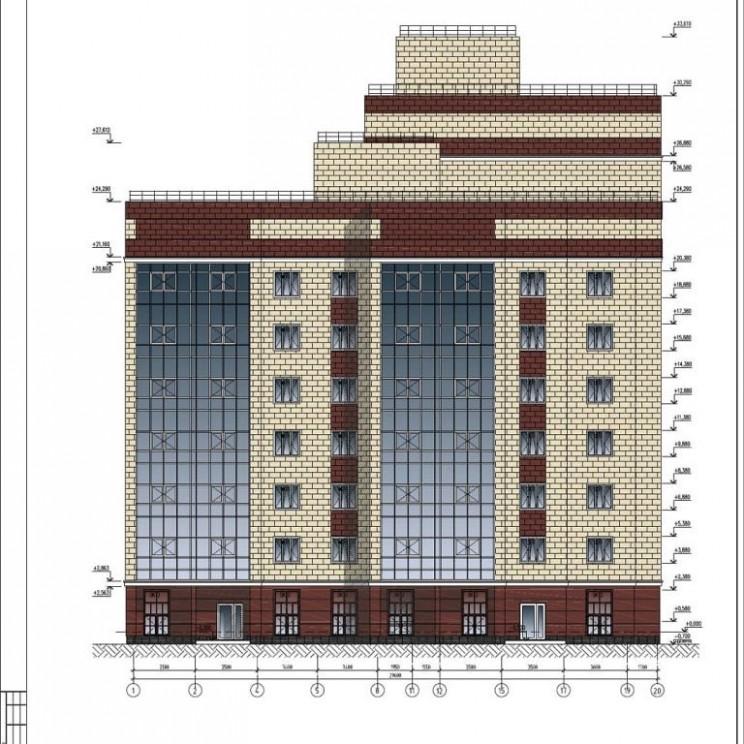 Проект застройки вместо домов на улице Дмитрия Ульянова 5 и 7 в Ленинском районе Ульяновска