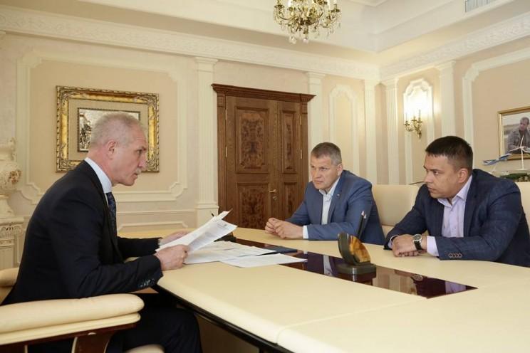 Сергей Морозов, Алексей Куринный, Айрат Гибатдинов, 29 мая 2018 года