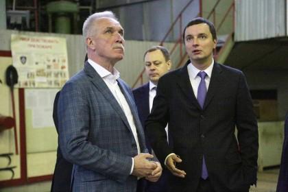 Сергей Морозов и Алексей Рогозин обсудили стратегию развития завода «Авиастар»