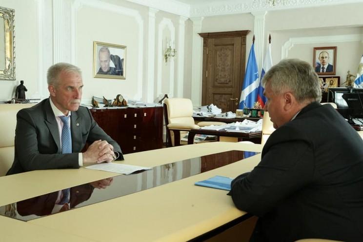 Сергей Морозов и Сергей Панчин, 12 мая 2018 года - 2
