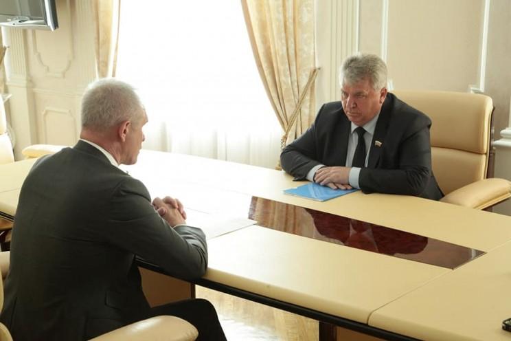 Сергей Морозов и Сергей Панчин, 12 мая 2018 года - 3