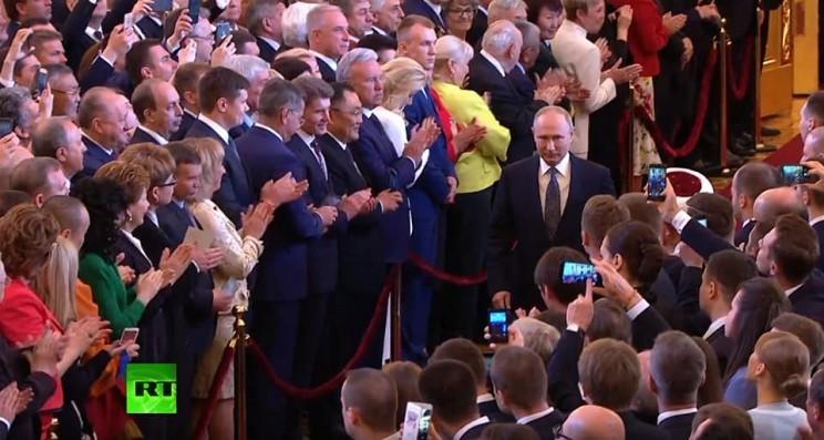 Сергей Морозов на инаугурации президента Владимира Путина, 7 мая 2018 года