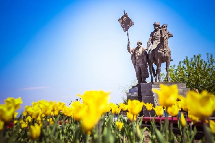 Ульяновск, памятник Богдану Хитрово