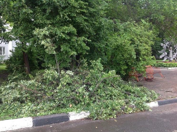 Ураган в Ульяновске, 30 мая 2018 года