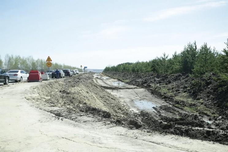В Тереньгульском районе идет капитальный ремонт участка федеральной трассы «Сызрань-Ульяновск» - 2