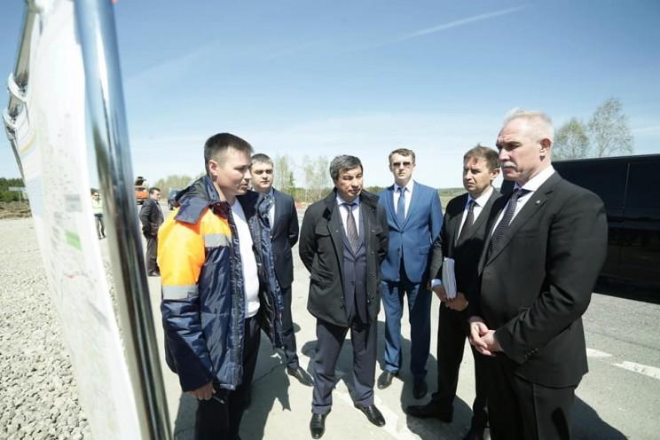 В Тереньгульском районе идет капитальный ремонт участка федеральной трассы «Сызрань-Ульяновск» - 3