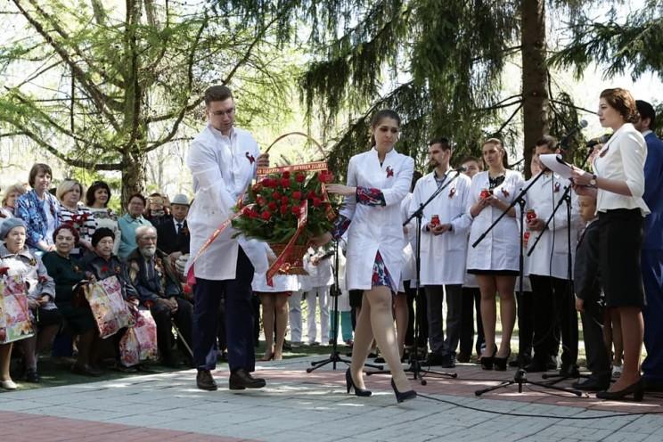 В Ульяновске открыли мемориальную доску с именами медицинских работников Ульяновской области, внесших свой вклад в Победу - 2