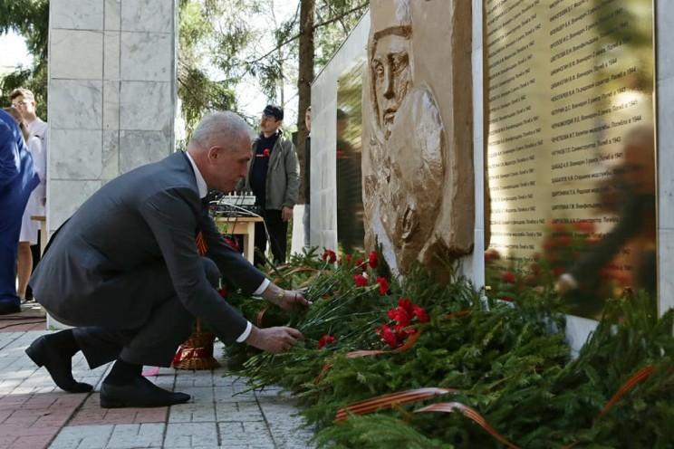 В Ульяновске открыли мемориальную доску с именами медицинских работников Ульяновской области, внесших свой вклад в Победу - 4