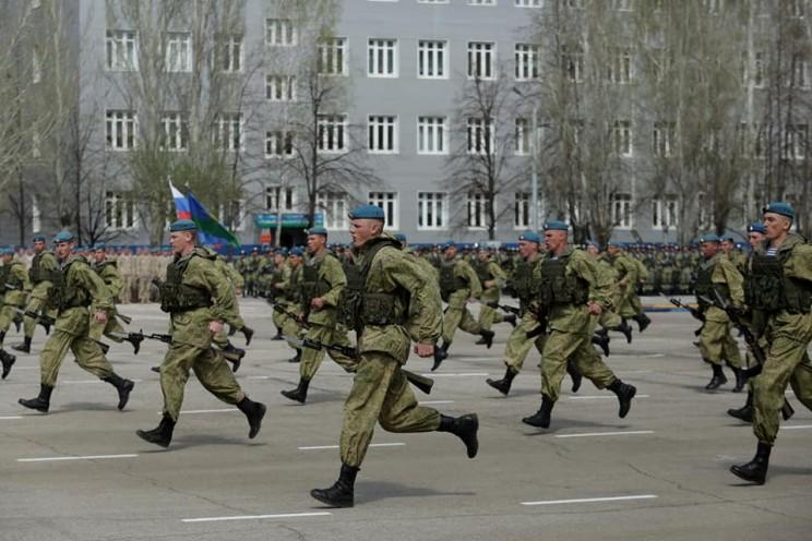 В Ульяновске отметили 20-летие 31-й отдельной гвардейской десантно-штурмовой бригады - 3
