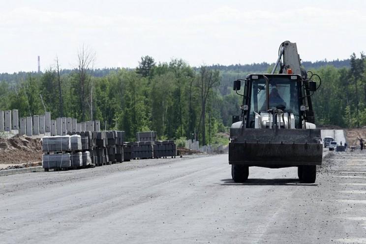 Завершают строительство подъездной дороги к федеральному высокотехнологичному центру медицинской радиологии в Димитровграде, 29 мая 2018 года - 2