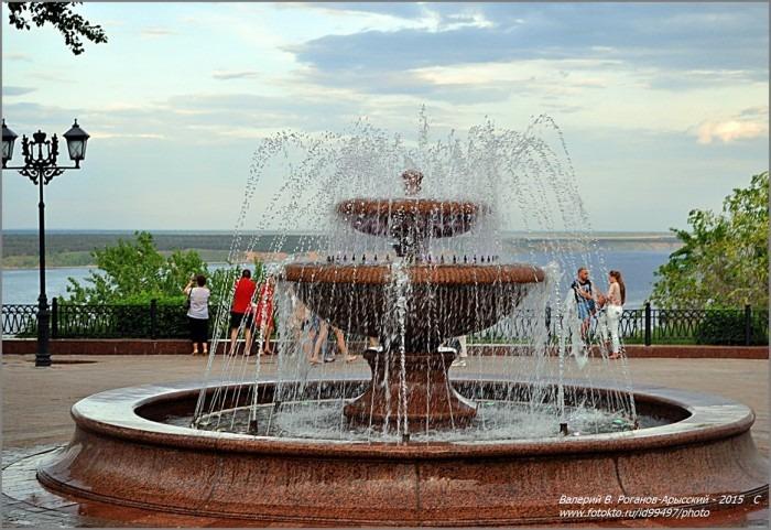 Сегодня в Ульяновске начнется сезон фонтанов