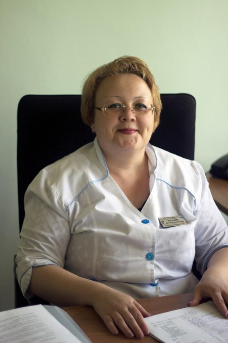Врач-инфекционист Центральной городской клинической больницы Ульяновска Джамиля Чуканова.
