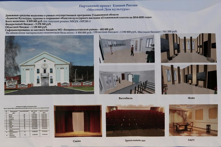 Дом культуры Базарный Сызган - 2