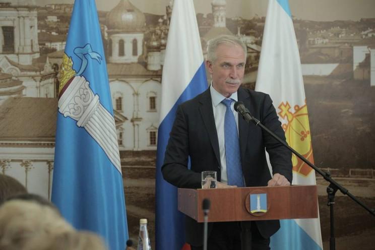 Губернатор Сергей Морозов поздравил Сергея Панчина с избранием на должность главы Ульяновска, 15 июня 2018 - 4