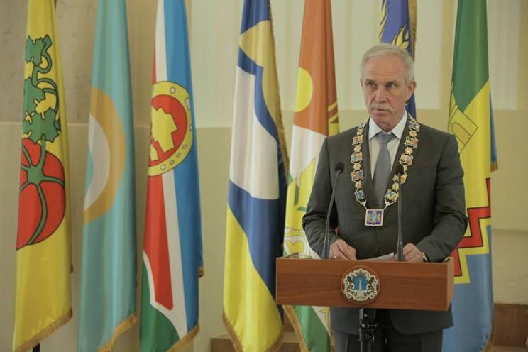 Губернатор Ульяновской области принял участие в церемонии принесения клятвенного обещания новоиспеченными государственными гражданскими и муниципальными служащими, 7 июня 2018 года - 2