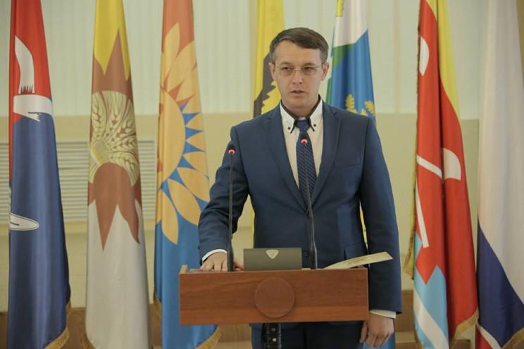 Глава администрации Тереньгульского района Григорий Шерстнев