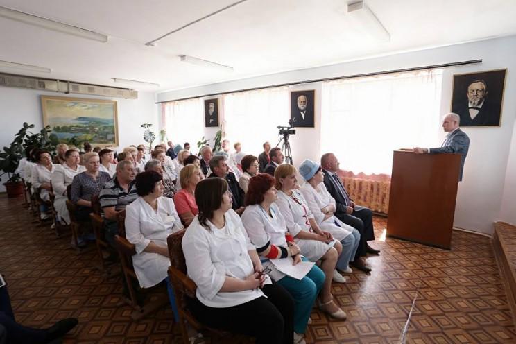 Комплекс зданий Сенгилеевской районной больницы будет отремонтирован - 2