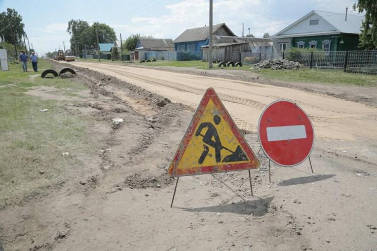 На ремонт и содержание автомобильных дорог в Старомайнском районе направлено почти 130 миллионов рублей - 1