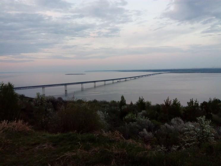 Президентский новый мост в Ульяновске